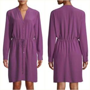 Eileen Fisher | Drawstring Waist Dress | Currant S